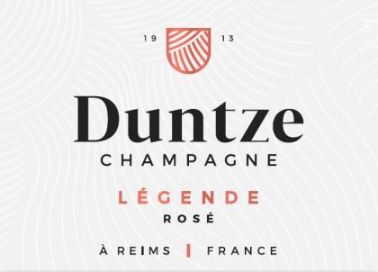 BRUT LÉGENDE - ROSÉ - Champagne Duntze - Non millésimé - Effervescent