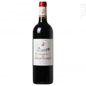 Château Chantegrive - Château de Chantegrive - 2016 - Rouge
