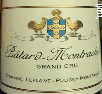 Batard-Montrachet Grand Cru - Domaine Leflaive - 1988 - Blanc