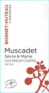 Clos Moulin Chartrie - Domaine Bonnet Huteau - 2018 - Blanc