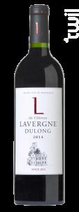 L du Château Lavergne Dulong - Château Lavergne Dulong - 2017 - Rouge