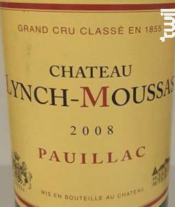 Château Lynch-Moussas - Château Lynch-Moussas - 2008 - Rouge