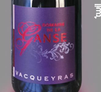 Vacqueyras - Domaine de La Ganse - 2016 - Rouge