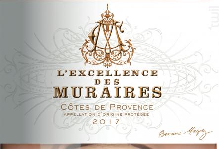 L'Excellence des Muraires - Bernard Magrez - Chateau Des Muraires - 2017 - Rosé