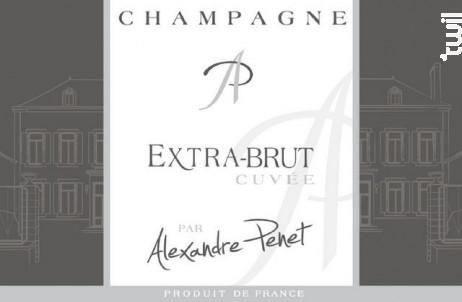Cuvée Extra Brut - Alexandre Penet - MAISON PENET - Non millésimé - Effervescent