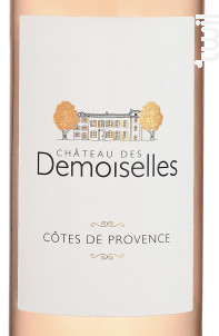 Château des Demoiselles - Château des Demoiselles - 2020 - Rosé