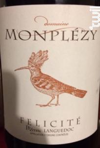 Félicité - Domaine Monplézy - 2018 - Rouge