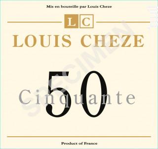 50 Cinquante - Domaine Louis Cheze - 2015 - Rouge