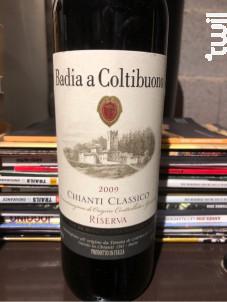Chianti Classico - Badia a Coltibuono - 1964 - Rouge