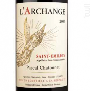 L'Archange - Vignobles Chatonnet - 2014 - Rouge