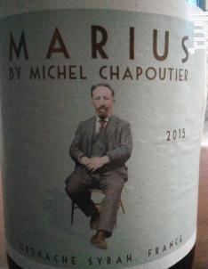 Marius Grenache Syrah - Maison M. Chapoutier - 2019 - Rouge