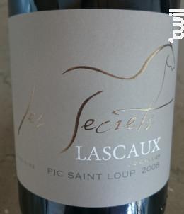 Les Secrets - Madeleine - Château de Lascaux - 2009 - Rouge