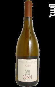 Bourgogne Côtes d'Auxerre Biaumont - Domaine Goisot Jean-Hugues et Guilhem - 2012 - Blanc