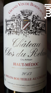 Château Clos du Relais - Château Clos du Relais - 1988 - Rouge