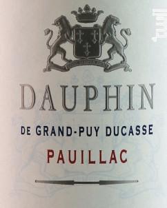 Dauphin de Grand-Puy Ducasse