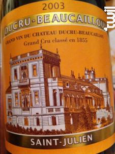 Château Ducru Beaucaillou - Château Ducru-Beaucaillou - 1988 - Rouge