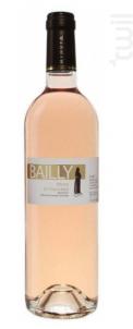 Bailly Côtes de Provence - Château Minuty - 2018 - Rosé