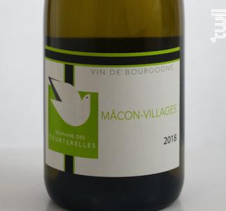 Mâcon-Villages - Domaine des Tourterelles - 2018 - Blanc