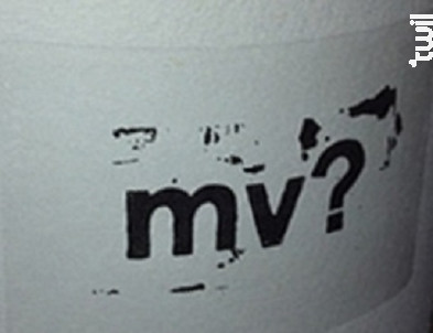 MV? - Domaine Canet-Valette - 2010 - Rouge