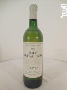 Château Beauregard-ducasse - Château Beauregard Ducasse - 1988 - Blanc
