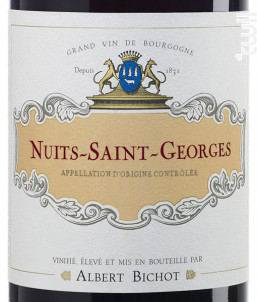 Nuits-Saint-Georges - Albert Bichot - 2014 - Rouge