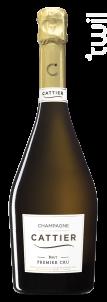 Brut Premier Cru - Champagne Cattier - Non millésimé - Effervescent