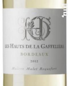 Les Hauts De La Gaffelière - Bordeaux - Les Hauts de la Gaffelière - 2016 - Blanc