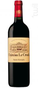 Château LE CROCK - Château Le Crock - 2011 - Rouge