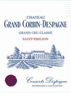 Château Grand Corbin-Despagne - Château Grand Corbin-Despagne - 2016 - Rouge