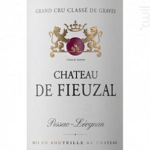 Château de Fieuzal - Château de Fieuzal - 2012 - Rouge