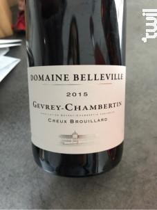 Rully Les Chauchoux - Domaine Belleville - 1999 - Rouge