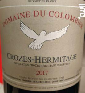 Crozes-Hermitage - Domaine du Colombier - 2017 - Rouge