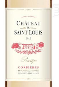 Château de Saint Louis AOP Corbière « Prestige » - Château de Saint Louis (SCEA) - 2016 - Blanc