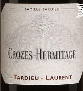 Crozes-Hermitage - Maison Tardieu-Laurent - 2018 - Rouge