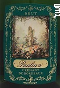 Paulian - Crémant Brut - Château Tour Calon - Non millésimé - Effervescent