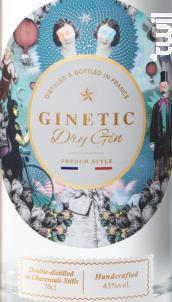 GINETIC Gin - Distillerie des Moisans - Non millésimé - Blanc