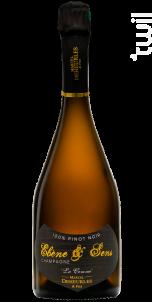 Ebène & Sens • 100% Pinot Noir • Soléra Mono-Parcellaire - Champagne Marcel Deheurles et Fils - Non millésimé - Effervescent