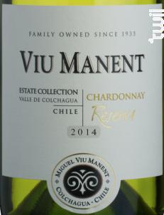 Estate collection reserva - chardonnay - Viu Manent - 2017 - Blanc