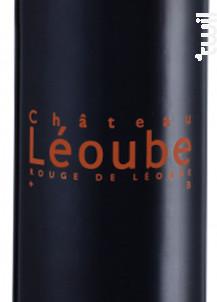 Rouge de Léoube - Château Léoube - 2017 - Rouge