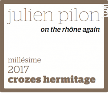 On the rhône again - Domaine Julien Pilon - 2017 - Blanc