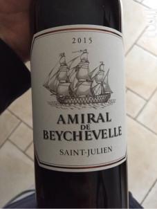 Amiral de Beychevelle - Château Beychevelle - 2018 - Rouge