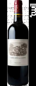 Carruades de Lafite - Domaines Barons de Rothschild - Château Lafite Rothschild - 2012 - Rouge