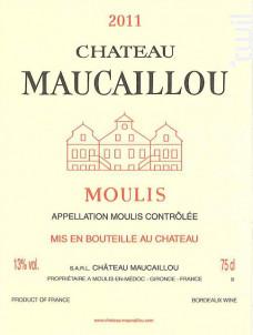 Château Maucaillou - Château Maucaillou - 2011 - Rouge