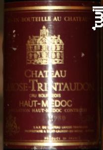 Château Larose Trintaudon Cru Bourgeois - Vignobles de Larose - Château Larose-Trintaudon - 1980 - Rouge