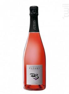 Rosé de Saignée Brut - Champagne Fleury - Non millésimé - Effervescent