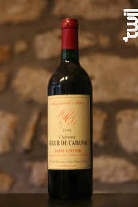 Château Ségur de Cabanac - Vignobles Delon- Château Ségur de Cabanac - 1986 - Rouge