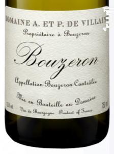 Bouzeron - Domaine de Villaine - 2018 - Blanc