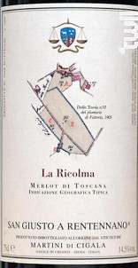 La Ricolma - San Giusto a Rentennano - 2011 - Rouge