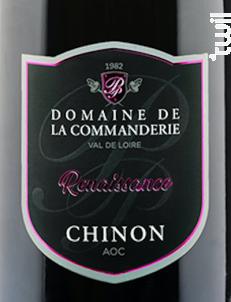 Cuvée Renaissance - Domaine de La Commanderie - 2017 - Rouge