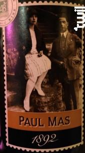 Paul Mas 1892 - Les Domaines Paul Mas - 2019 - Rouge